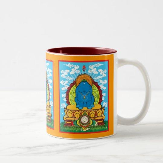 BUDDHA BUN Two-Tone COFFEE MUG