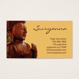 buddha business card