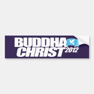 Buddha Christ 2012 Bumper Sticker