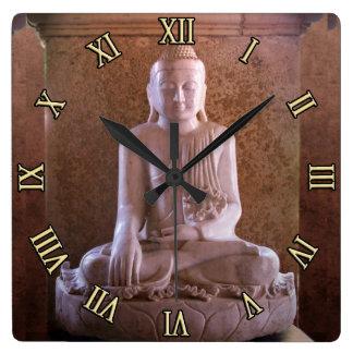 Buddha Round Wall Clock