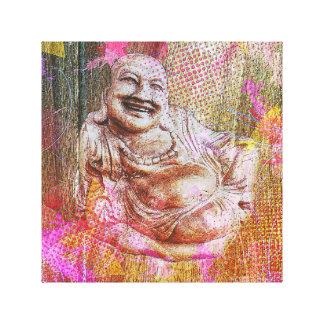 Buddha colour canvas print