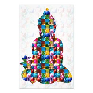 BUDDHA Consciousness : Rolled into JEWELS Stationery Paper