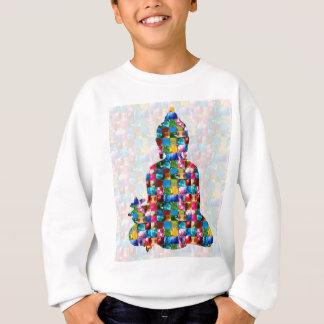 BUDDHA Consciousness : Rolled into JEWELS Sweatshirt