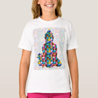 BUDDHA Consciousness : Rolled into JEWELS T-Shirt