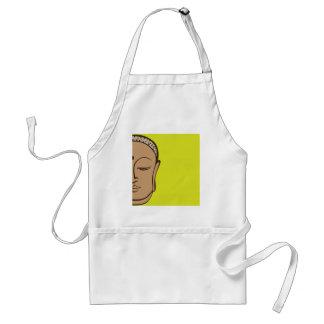 Buddha design apron