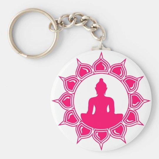Buddha Designs by Liebby Industries Basic Round Button