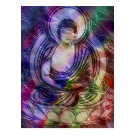 Buddha Energy 3 Postcard