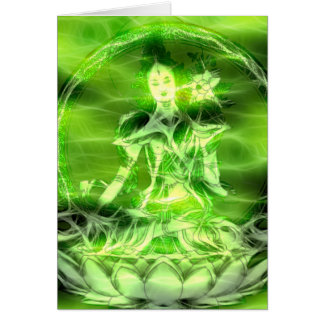 Buddha Energy 5 Tara Card