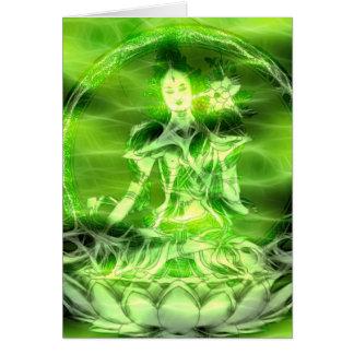 Buddha Energy 5 Tara Greeting Card