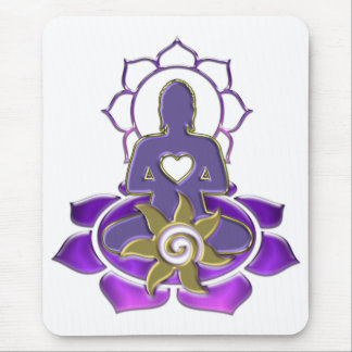 BUDDHA energy | make your own background Mousepads