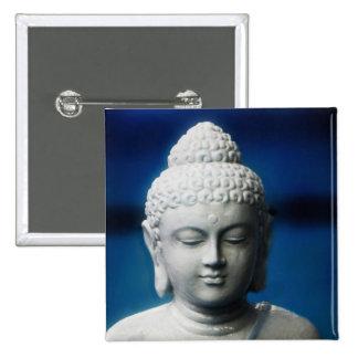 Buddha -  Enlightened One 15 Cm Square Badge
