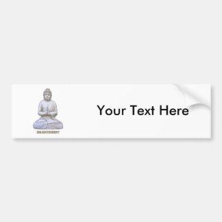 Buddha Enlightenment Bumper Sticker