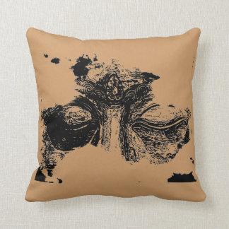 Buddha Eyes Throw Cushion