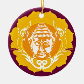 Buddha face ornament
