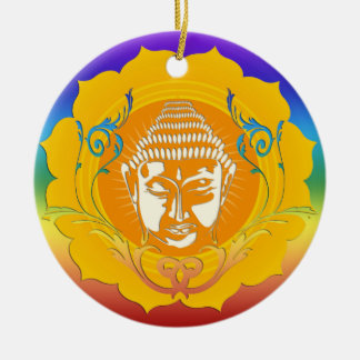 Buddha face ornament