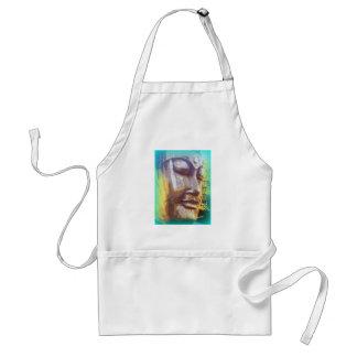 Buddha face standard apron