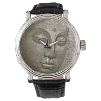 Buddha face wristwatch