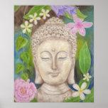 Buddha Flower art print
