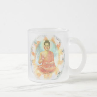 Buddha Flower Mug