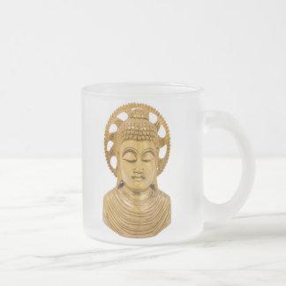 Buddha Frosted Glass Coffee Mug
