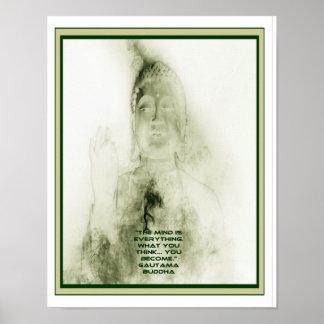 Buddha Gautama Inspirational 11 x 14 Print