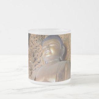 Buddha Giftware Frosted Glass Coffee Mug