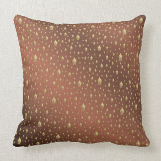 buddha, golden + buddha, asian pattern, shiny, cushion