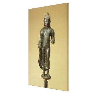 Buddha, Gupta, Phopnar (bronze) Canvas Print