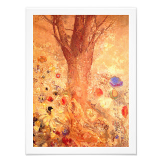 Buddha in His Youth by Redon Photo Print