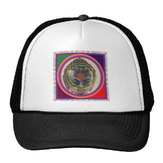 BUDDHA in meditation FRONT PRINTED shirts gifts Trucker Hat
