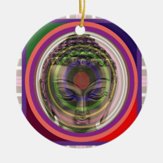 BUDDHA in meditation Master Teacher Saint Guru FUN Christmas Ornament