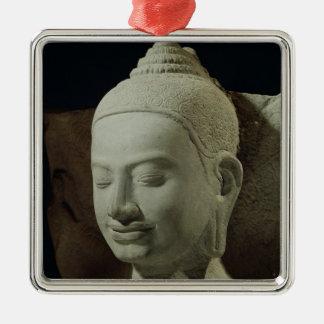 Buddha in Meditation on the Naga King, Christmas Ornament