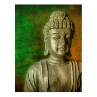 Buddha in Meditation Postcard