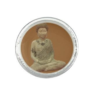 Buddha In Meditation Ring