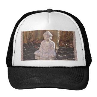 Buddha in Meditation Statue Religion Spiritual fun Cap
