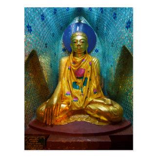 Buddha In Ornate Alcove Postcard