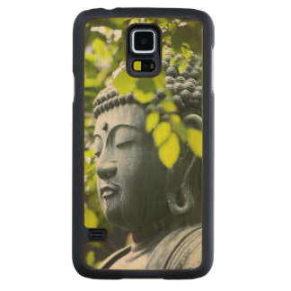 Buddha in Senso-ji Temple Garden Carved Maple Galaxy S5 Case