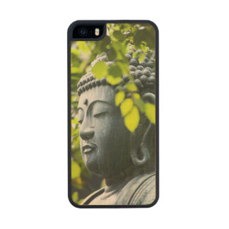 Buddha in Senso-ji Temple Garden Carved® Maple iPhone 5 Case