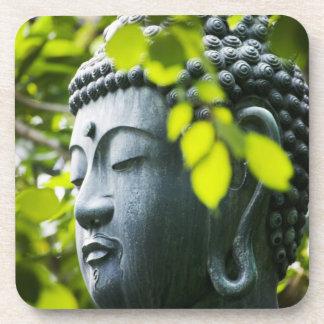 Buddha in Senso-ji Temple Garden Coaster