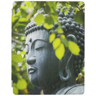 Buddha in Senso-ji Temple Garden iPad Cover