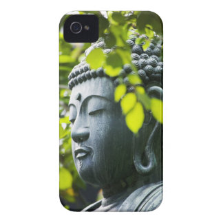 Buddha in Senso-ji Temple Garden iPhone 4 Covers