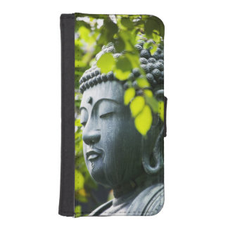 Buddha in Senso-ji Temple Garden iPhone SE/5/5s Wallet Case