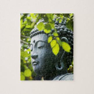 Buddha in Senso-ji Temple Garden Jigsaw Puzzle