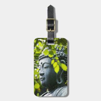 Buddha in Senso-ji Temple Garden Luggage Tag