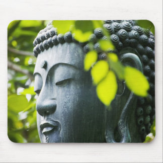 Buddha in Senso-ji Temple Garden Mouse Mat