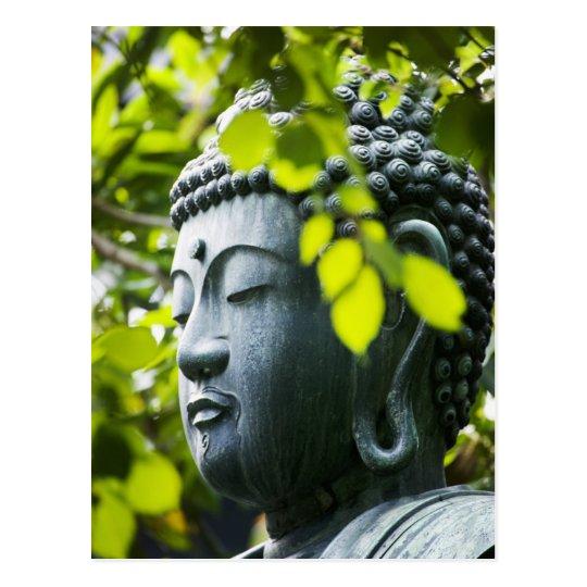 Buddha in Senso-ji Temple Garden Postcard