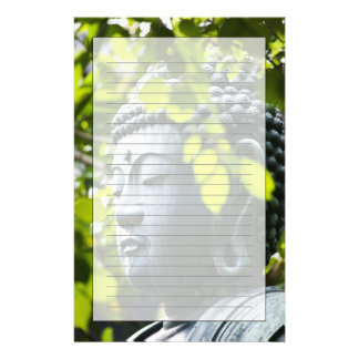 Buddha in Senso-ji Temple Garden Stationery