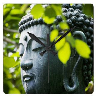Buddha in Senso-ji Temple Garden Wallclock