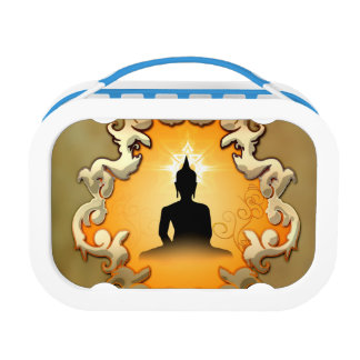 Buddha in the sunset lunchboxes
