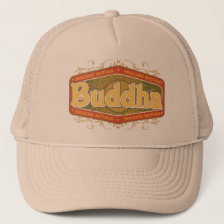 Buddha Inquire Within Trucker Hat